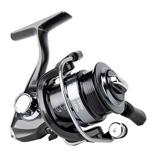 yankai Carrete De Pesca Metal De Alta Velocidad para,Fuerza De Frenado 5 KG, Relación De Velocidad 6.0: 1, Número De Rodamiento 5 + 1, Mano Izquierda/Derecha