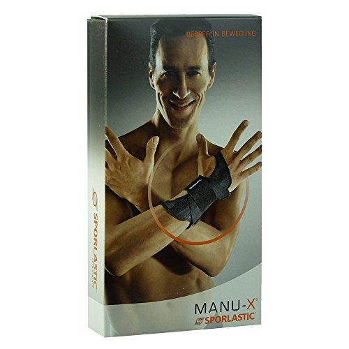 Sporlastic MANU-X Handgelenkorthese Größe 1 schwarz 07642, 1 Stück