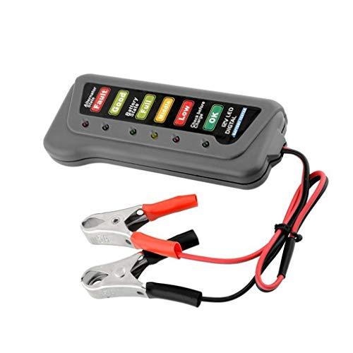 teng hong hui Auto-LKW-12-Volt-Batterie-Tester Batterietester Motorrad-Batterie LED-Anzeigelampe Anzeige Motorrad-Motorrad-Battery Checker