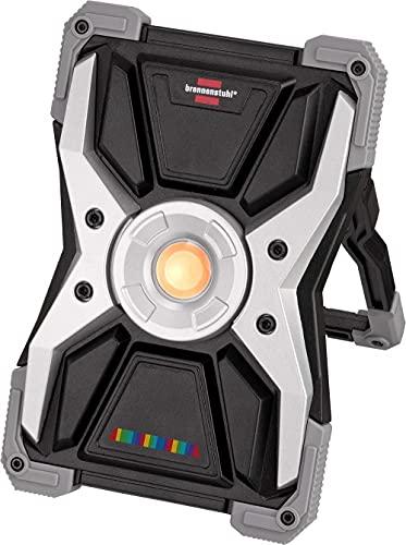 Brennenstuhl Projecteur Portable LED RUFUS 3020 MA Rechargeable, avec Indice de Rendu de Couleurs 15CRI96, 2700 Lumen (Projecteur de chantier LED, P65)