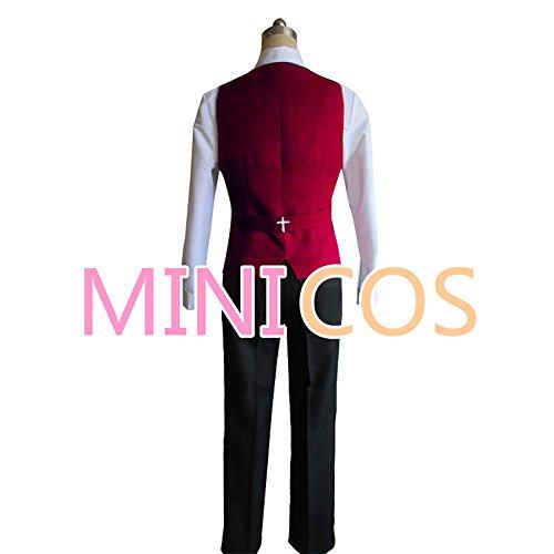 『【男性LLサイズ】コスプレ衣装 血界戦線 クラウス・フォン・ラインヘルツ 風 【MINICOS】』の2枚目の画像