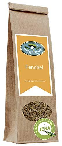 PEPPERMINTMAN Fenchel Samen ganz, hochölhaltig – Aromastarker Fencheltee – 60g Papiertüte