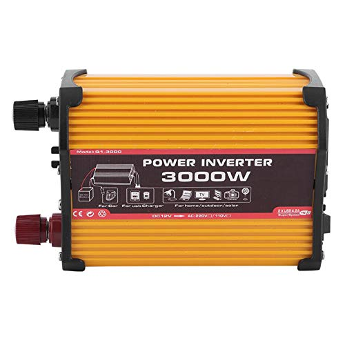 Inversor de coche, transformador de potencia multifunción para coche, reproductores de DVD resistentes de gama alta, luces Kindle para TV(12V to 110V)
