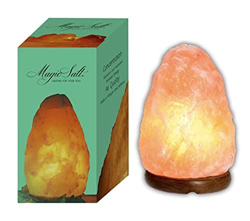 LAMARE Lampada di Sale dell Himalaya 1-2kg - Magic Salt® Lighting For Your Soul