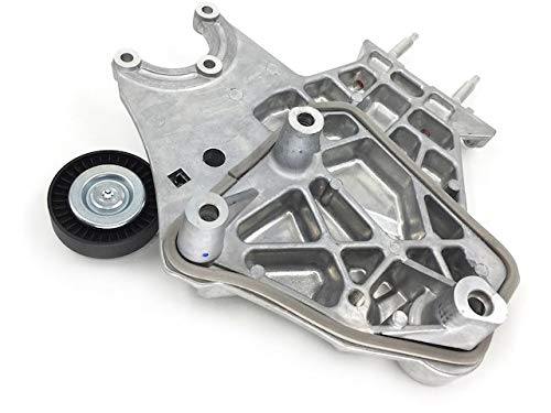 Serpentine Belt Tensioner Assembly with Pulley - Compatible with 2000-2005 Dodge Neon 2.0L 4-Cylinder