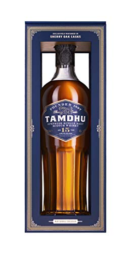 Tamdhu 15 Years Sherry Cask + GB  Whisky (1 x 700 ml)