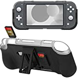 Protective Case for Nintendo Switch Lite - Grip Cover with Shock-Absorption Anti - Scratch 2 Game Card Slots Design for...