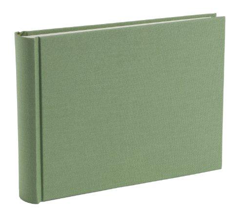 Semikolon (350987) Album Small lime (hell-grün) - Foto-Album mit 80 Seiten - Foto-Buch mit cremeweißem Fotokarton - Format: 21,5 x 16 cm (S)