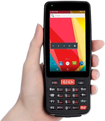 Clothes Terminal de Datos móvil con Pantalla táctil 4In / Android 6.0 OS 2 GB + 16 GB, Wi-Fi 4G NFC BT4.0 GPS, Soporte de Lectura de códigos 2D 1D, for la Entrega del envío al por Menor