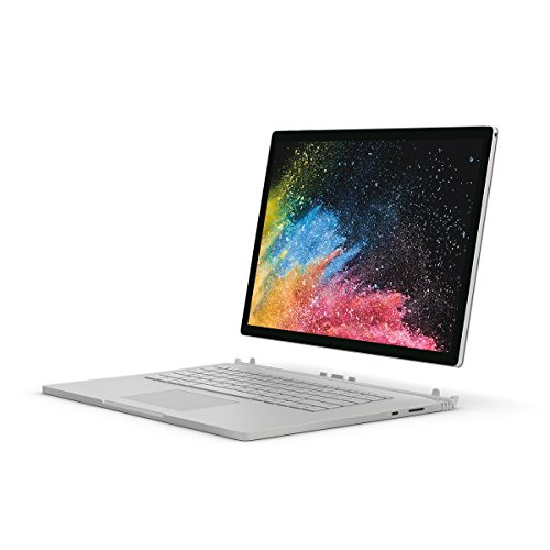 "Microsoft Surface Book 2 15"" (Intel Core i7, 16GB RAM, 512 GB), Silver"