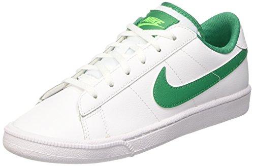 Nike Tennis Classic (GS), Scarpe Uomo, Multicolore (White/LCD Green-White-Vltg Grn), 38.5 EU