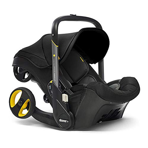 Doona Infant Car Seat & Latch Base – Car Seat to Stroller – Nitro Black – US Version