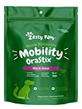 Zesty Paws Hip & Joint Mobility Sticks for Dogs - with Hemp Seed, Curcumin, Eggshell Membrane & Taurine - Support for Hips & Joints + Cartilage Health - Proprietary Healthy Teeth & Gum Blend