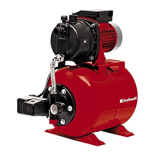Einhell Hauswasserwerk GC-WW 6538 (650 W, 3,6 bar Druck, 3.800 l/h Förderleistung, integrierter Druckschalter, Manometer, 20l Behälter)