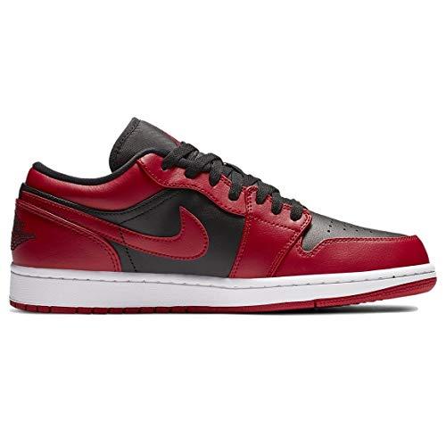 NIKE Air Jordan 1 Low (GS), Zapatillas de básquetbol para Niños