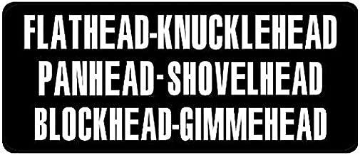 FLATHEAD HELMET STICKER HARD HAT STICKER HELMET STICKER