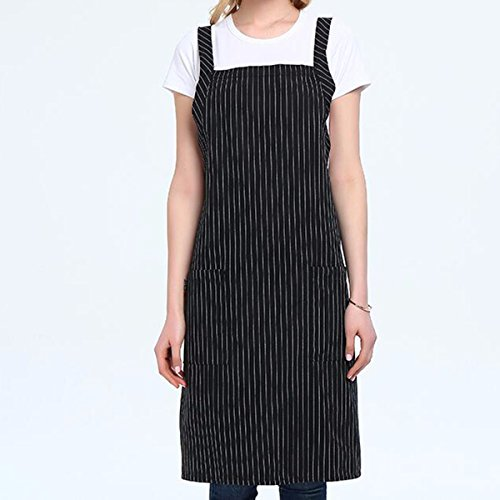 JRFBA-Tablier tablier han édition maison cuisine pendu au cou le café allongé les vêtements de travail féminin,d