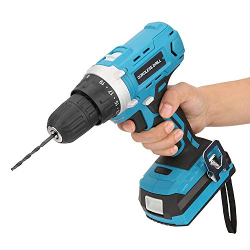 Cordless Impact Drivers, 18V Electric LithiumCordless Drill Fast Charger 35N.m Torque Setting Cordless Drill Variable Speed Kit Power Drills Sets US Plug 100-240V