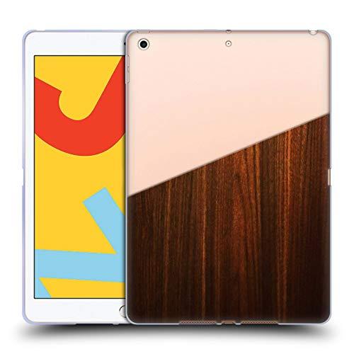 Head Case Designs Ufficiale Nicklas Gustafsson Legno Textures 2 Cover in Morbido Gel Compatibile con iPad 10.2 (2019)