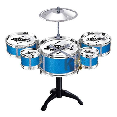 Kinder Mini Jazz Drum Set Kids Musical Educational Instrument Spielzeug Mit Stock