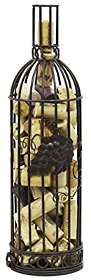 Southern Homewares Wine Glass Shaped Cork Corral Holder