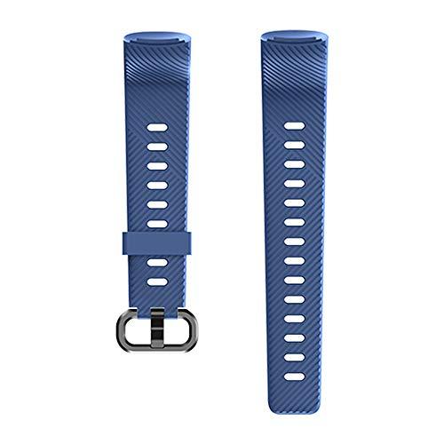 Kungix Uhrenarmband für 152 Fitness Armband, Silikon Sportband Ersatzband Uhrenband für Frauen Männer mit Vier Farben (Blau)