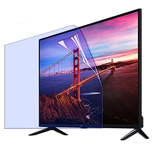 Protector de pantalla antirreflectante para TV de 32 a 75 pulgadas, antiarañazos, para LCD, LED, 4K OLED y QLED HDTV, 55' 1221 x 689