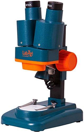 Levenhuk Microscopio stereoscopico per Ragazzi LabZZ M4 per Osservare Monete, Minerali, Insetti, Piante e Altri Oggetti
