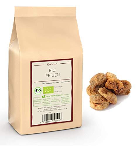 1kg de figues BIO sèches sans additifs, d'Espagne – NOUVELLE RÉCOLTE – figues naturelles de la meilleure qualité biologique