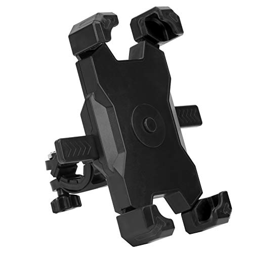 Omabeta Soporte para Teléfono Móvil De Ciclismo Giratorio Ajustable para Teléfonos Inteligentes para Bicicletas Plegables Que Se Ajustan A Una Bicicleta Estática para Bicicleta De Montaña(Negro)