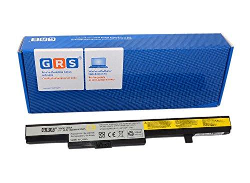 GRS Akku für Lenovo B40, B50, N40, N50 Serie, V4400, M4450A Serie, ersetzt: 45N1184, 45N1185, 4ICR18/65, 4ICR19/66, L12L4E55, L13M4A01, L13L4A01, 121500191