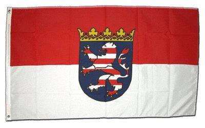 Flagge Deutschland Hessen - 60 x 90 cm