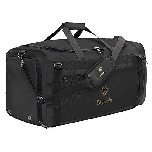 Eackrola Sports Gym Bag, Travel Duffel bag with Wet Pocket &...