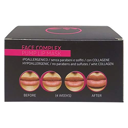 Face Complex - Maschera per labbra effetto volumizzante Pump Lip Mask con 5 maschere da 7gr.