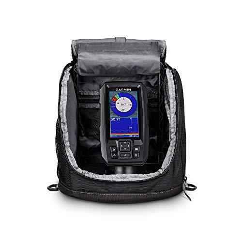 Garmin Striker Plus 4 Ice Fishing Bundle, Includes Portable Striker Plus 4 Fishfinder and Dual Beam-IF Transducer