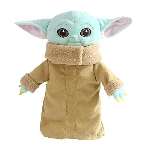 Kaige Baby Yoda Peluche de Star Wars, juguete para niños, 29 cm, para regalo, cumpleaños, Navidad, colección