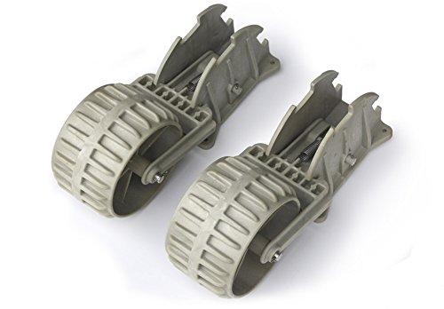 Alpuna Nylon-Slipräder für die Heckspiegelmontage (Grau)
