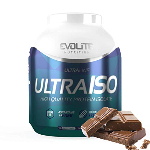Evolite Nutrition Ultra Iso Whey 2.7 kg - Whey Protein Isolate, High Protein Powder, Muscle Growth and Support, Create a Beautiful Body - Chocolate
