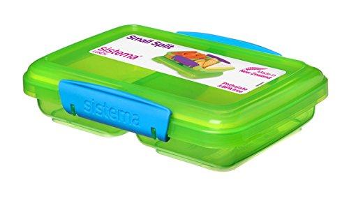 Sistema Small Split 41518 - Fiambrera mini sinftalatos ni BPA, 350ml