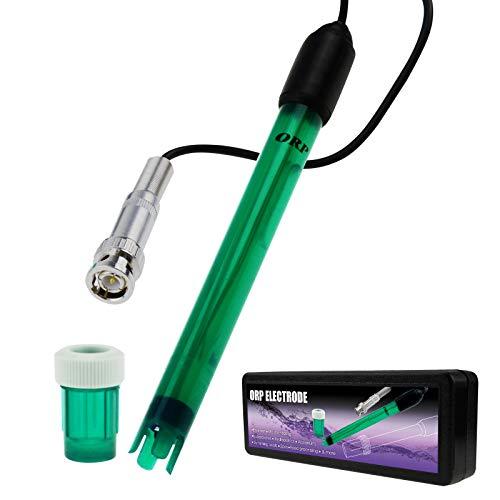 ORP Électrode Remplaçable BNC Prise Sonde pour ORP Testeur Mètre Manette 300cm Longue Câble Aquariums, Réservoirs, Étangs Mesure