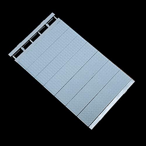 YUEXINHU Kleiderschrank Layered Partition Schrank Regal Schrank Kleiderschrank Getrenntes Regal Fach Broken Shoe Cabinet Schlafsaal Regal 24 cm breit [38-55 cm lang] Blau