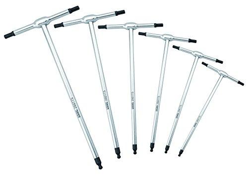 USAG 280 TTS/SE6 Satz Schraubendreher für Innensechskantschrauben (mit Kugelkopf und T-Griff, 6-teiliger) U02800760