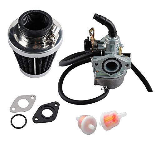 OxoxO PZ19 - Filtros de combustible para motocicleta de 35 mm, para Taotao ATV Cable Choke Carb Juntas con chino hecho 50 cc 70 cc 90 cc 100 cc 110 cc 125 cc Dirt Bike Scooter Moped Go karts