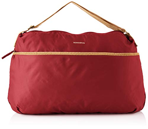 Bensimon Damen SHOULDER BAG COLOR LINE, Lie De Vin, TU