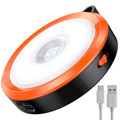 ZMNT (Aktualisierte Version) Sensor Licht, Nachtlicht mit Bewegungsmelder, Bewegungslicht mit Batterie, Auto An/Aus Nachtlicht, Schrankleuchten, LED Bewegungsmelder für Flur, Schlafzimmer