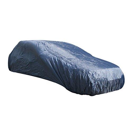 Housse protection de voiture XL (524x191x122cm) polyster 170T - 45 gr./m² bleu foncé