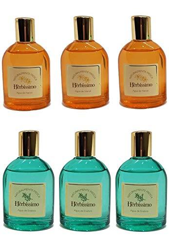 Herbíssimo Pack 3 Agua de Enebro 60ml + 3 Agua de Neroli 60ml (Sin caja)
