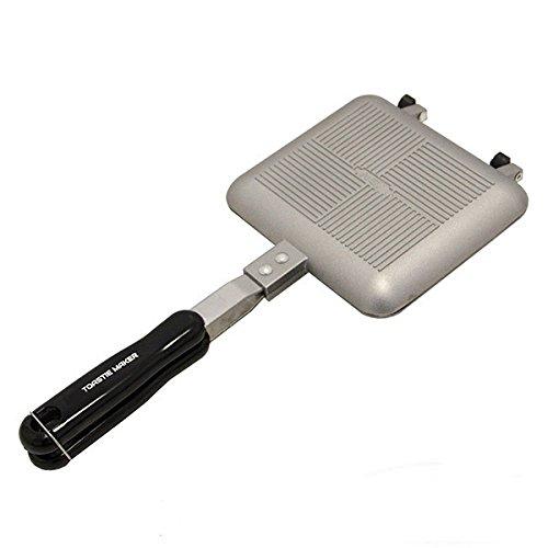 g8ds® Toastie Maker Outdoor Camping Sandwich-Toaster benötigt keinen Strom