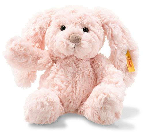 Steiff Tilda Hase - 20 cm - Plüschhase mit Schlappohren - Kuscheltier für Kinder - Soft Cuddly Friends - beweglich & waschbar - rosa (080616)