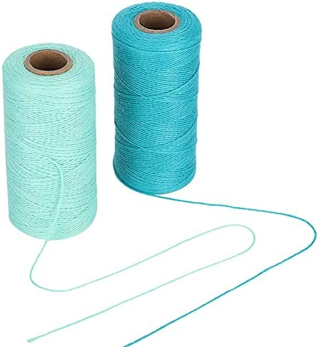 Super-cheap LiuliuBull supreme L 2 Rolls 8 4 Cotton Hand Th Thread DIY Sewing